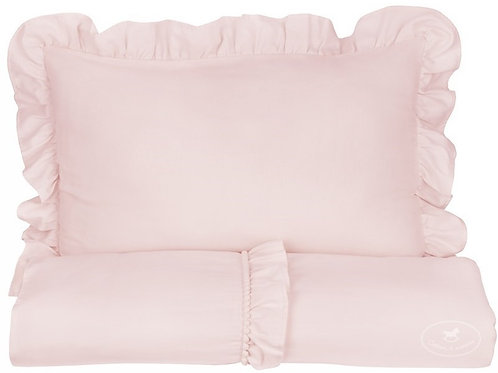 Bed Linen JUNIOR Boho 100x135cm Powder Pink