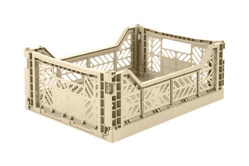 Aykasa Midi Foldable Crate in Boulder