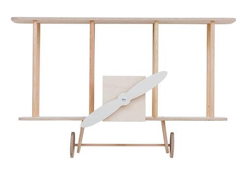 """Up! warsaw Biplane shelf """"Dashy"""" Wooden"""