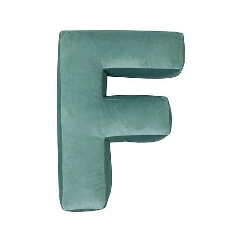Velvet Letter F Mint