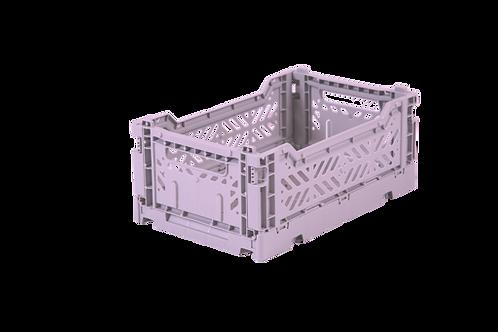 Aykasa Mini Foldable Crate in Orchid