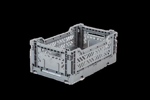 Aykasa Mini Foldable Crate in Grey