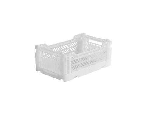 Aykasa Mini Foldable Crate in White