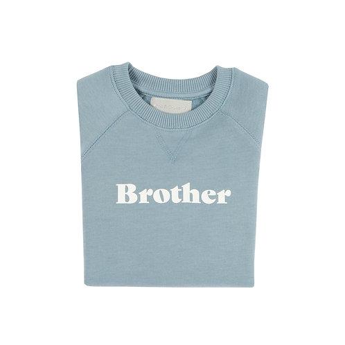 Sky Blue 'BROTHER' Sweatshirt