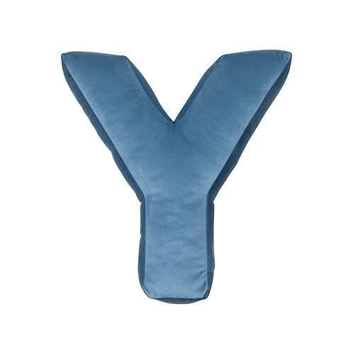 Velvet Letter Z Cushion