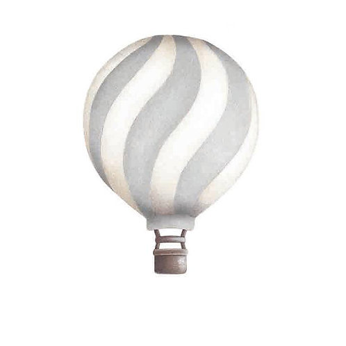 Light Grey Wavey Vintage Balloon Wall Sticker