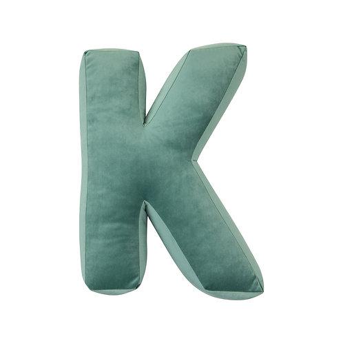 Velvet Letter K Mint