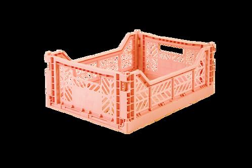 Aykasa Midi Foldable Crate in Salmon