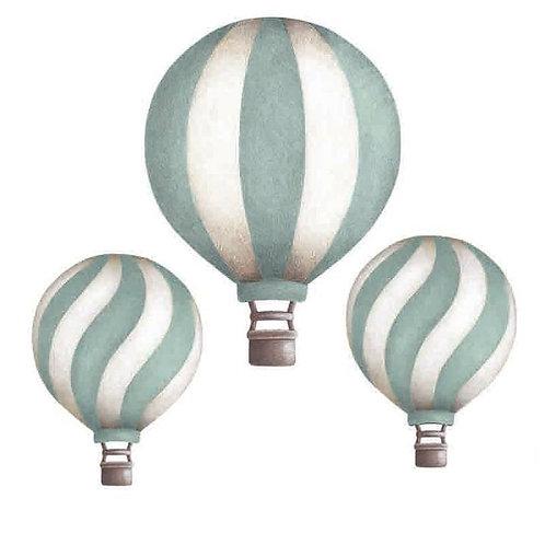Dark Mint Vintage Balloon Set