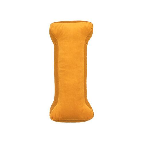 Velvet Letter I Mustard