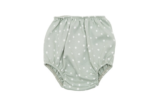 Sage and White Spot Print Bloomers