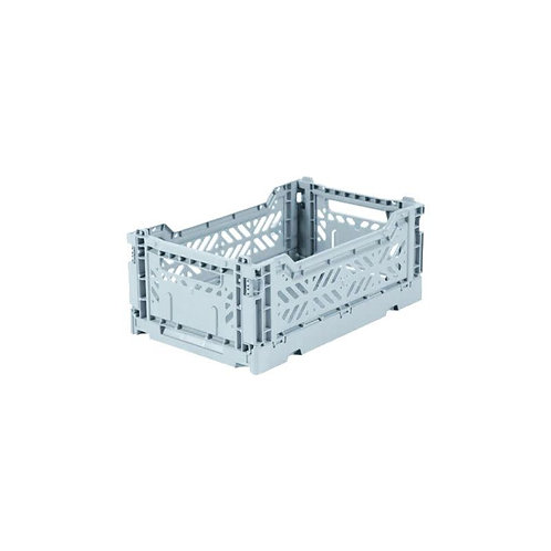 Aykasa Mini Foldable Crate in Pale Blue