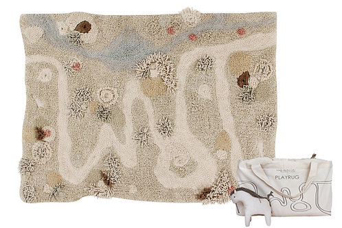 Lorena Canals Washable Play rug Path of Nature