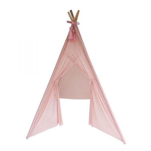 Sheer Teepee in Dusty Pink