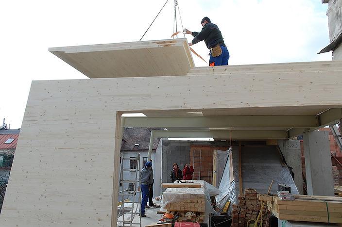 allmermacke Brettsperrholz nachhaltiges Bauen mit Holz-Fertigteilen