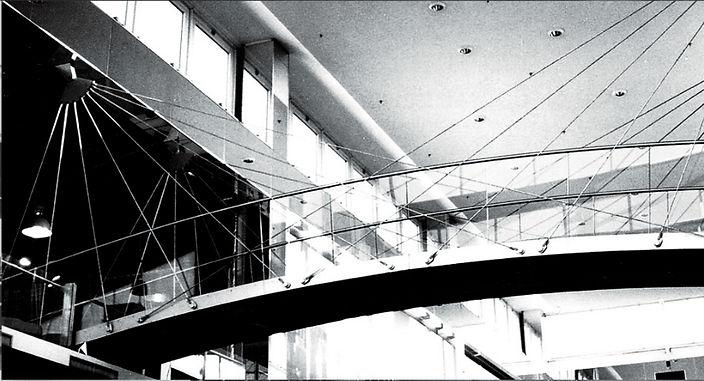 KARE Designhaus/ SCS, Schrägseilbrücke