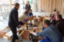 allmermacke Baustelle Gleichenfeier, gute Zusammenarbeit mit velässlichen Firmen, jahrelange Erfahrung, professionell und kompetent