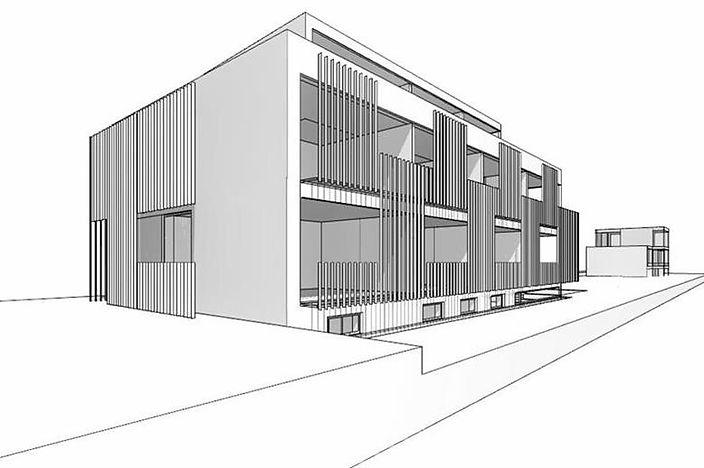 Wettbewerb Bürohaus Mauerbachstrasse