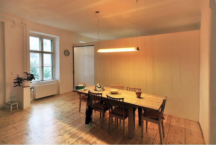 Inneneinrichtung Altbauwohnung Raumteiler