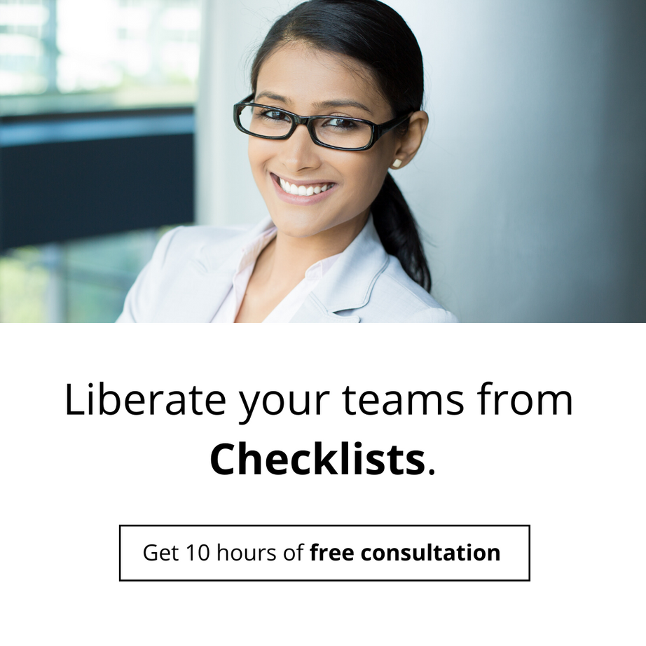 Liberate your teams from Checklists