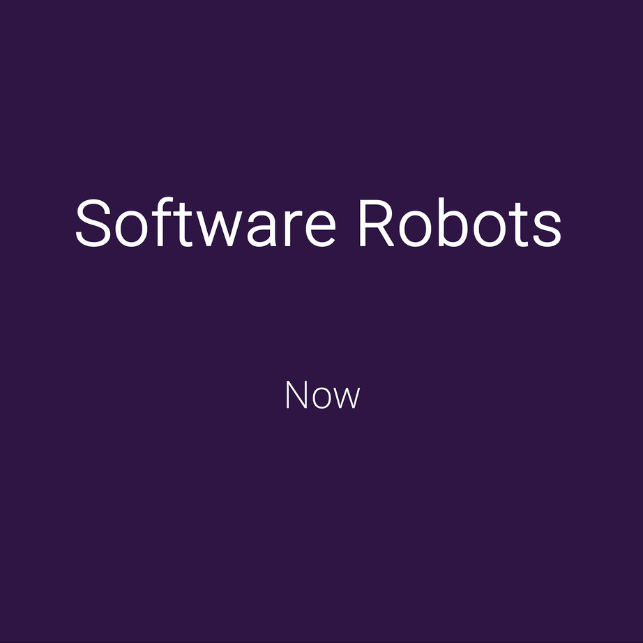 Automate key business tasks with Software Robots.