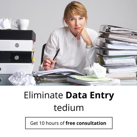 Eliminate Data Entry tedium
