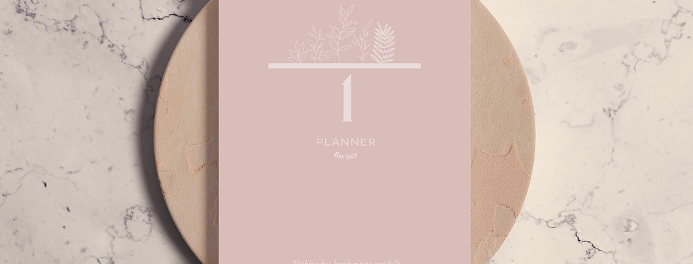 Cuaderno The Planner for her Pink