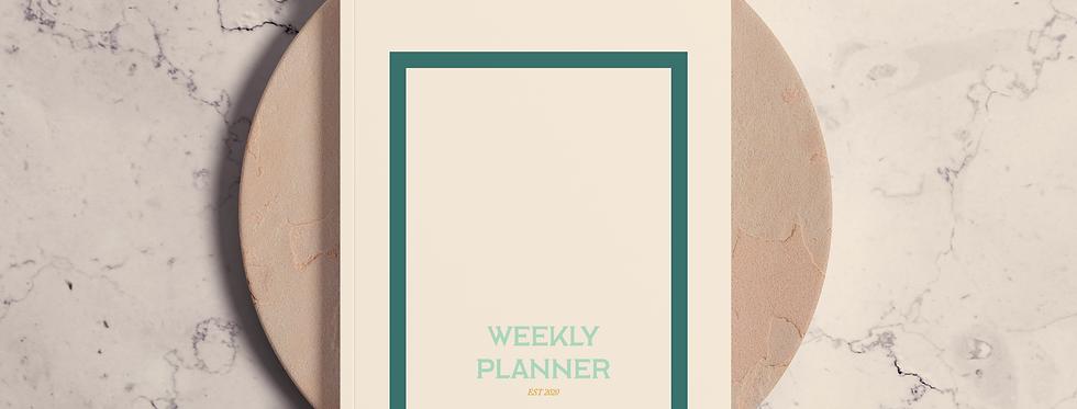 Cuaderno Weekly Planner