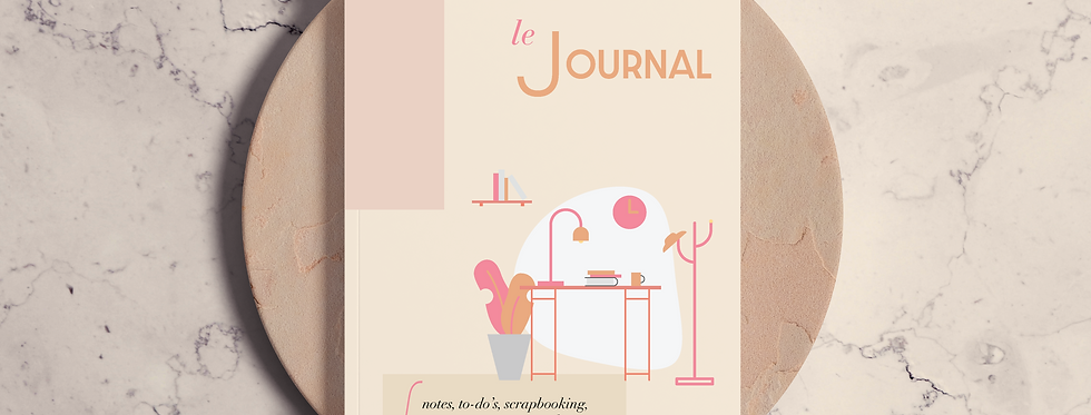 Cuaderno Le Journal Illustration