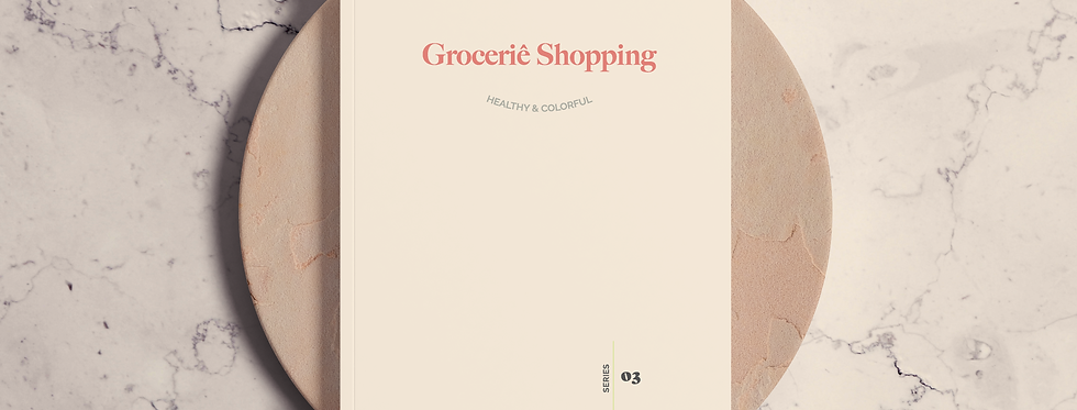 Cuaderno Grocerie Shopping