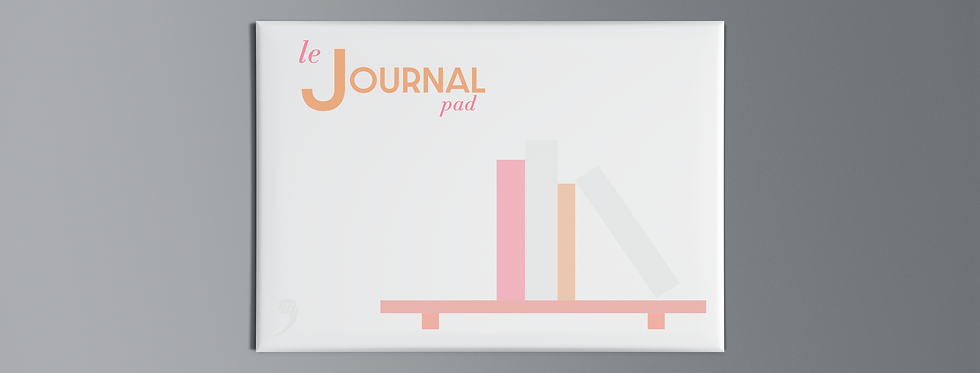 Notepad Le Journal Pad Books