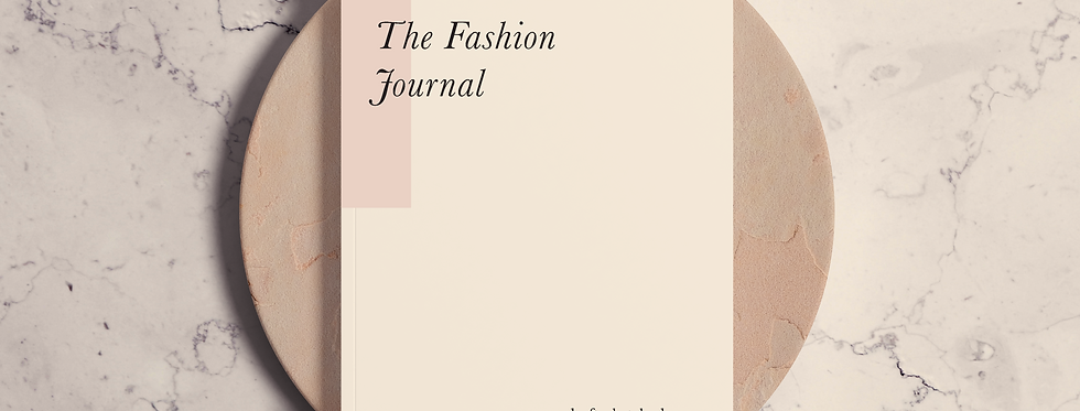 Cuaderno The Fashion Journal