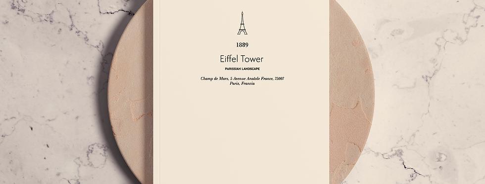 Cuaderno Eiffel Tower