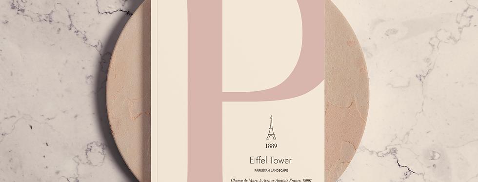 Cuaderno Eiffel Tower P