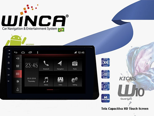 Central Multimidia Nissan Kicks Winca