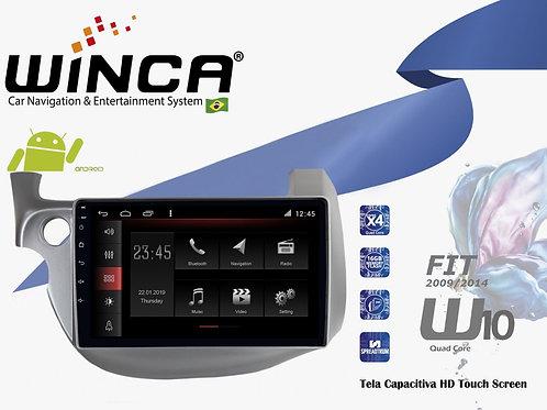 Central Multimidia Honda Fit 2009-2014 Winca W10