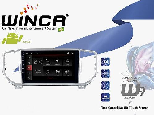 Central Multimidia Kia Sportage 2016-2019 Winca