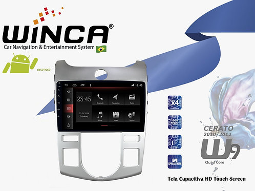 Central Multimidia Kia Cerato ar Digital Winca W9