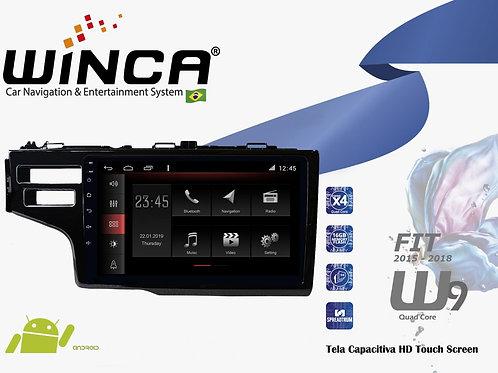 Central Multimidia Honda Fit 2015-2018 Winca W10