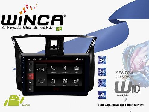 Central Multimidia Nissan Sentra Winca W10