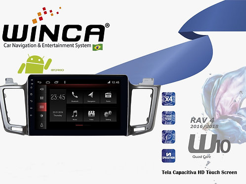 Central Multimidia Toyota Rav4 Winca W1