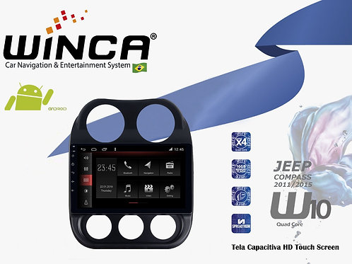 Central Multimidia Jeep Compass  Winca W10