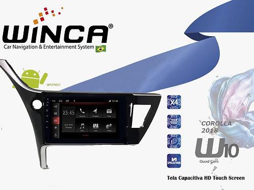 Central Multimidia Toyota Corolla 2018 Winca W10
