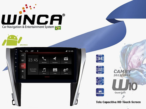 Central Multimidia Toyota Camry Winca W10