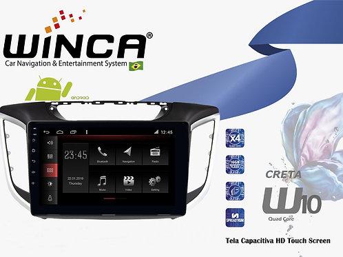Central Multimidia Hyundai Creta Winca W10