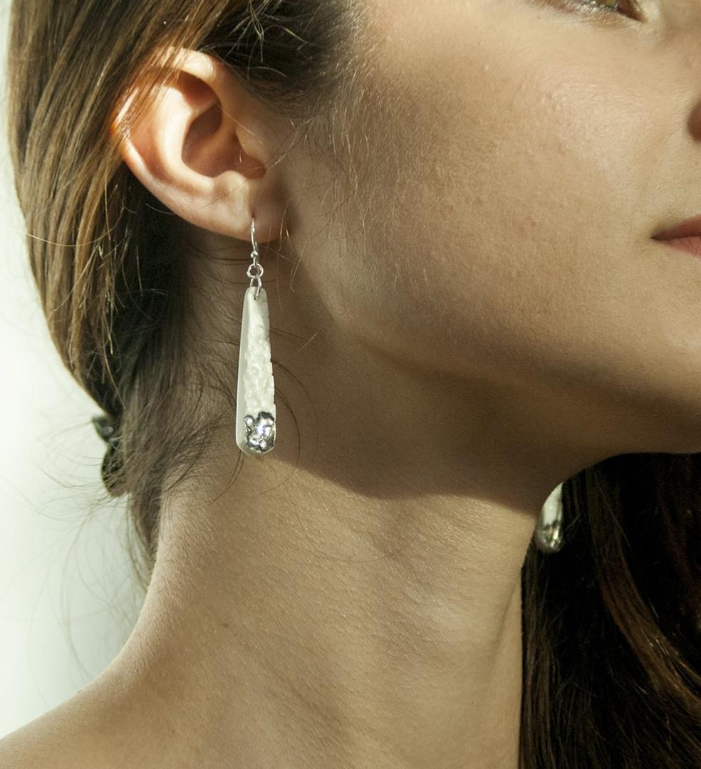 Styro Earrings, 2016