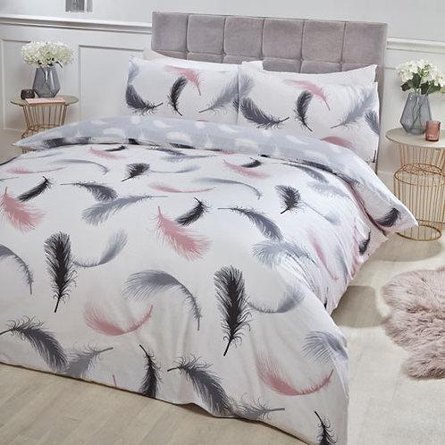 Feather Duvet Set - White