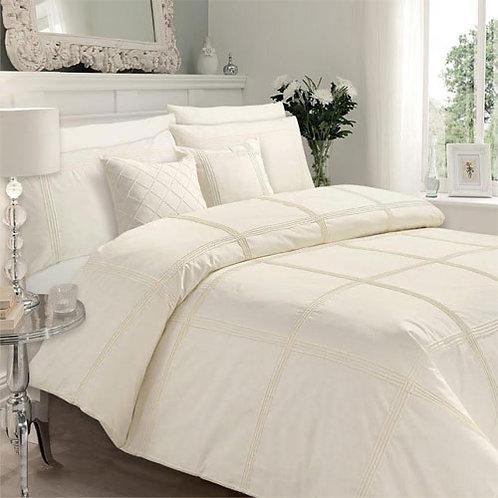 Felicity Luxury Duvet Set - Cream