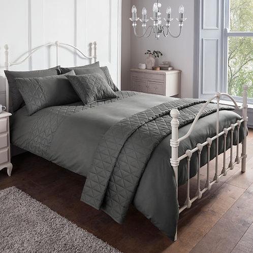 Gianna Essential Duvet Set - Grey