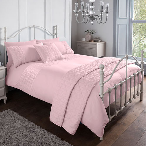 Gianna Essential Duvet Set - Pink